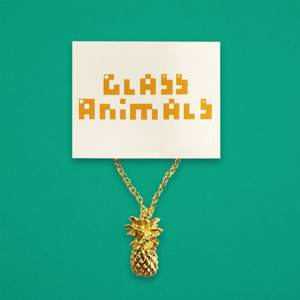 GOLD PLATED PINEAPPLE PENDANT