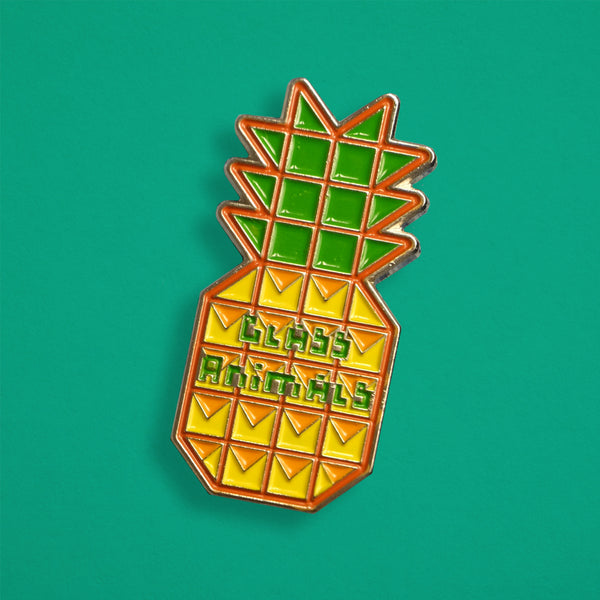 PINEAPPLE PIN BADGE