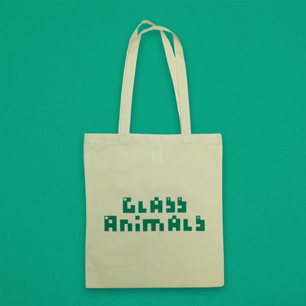 TEAL LOGO NATURAL TOTE BAG