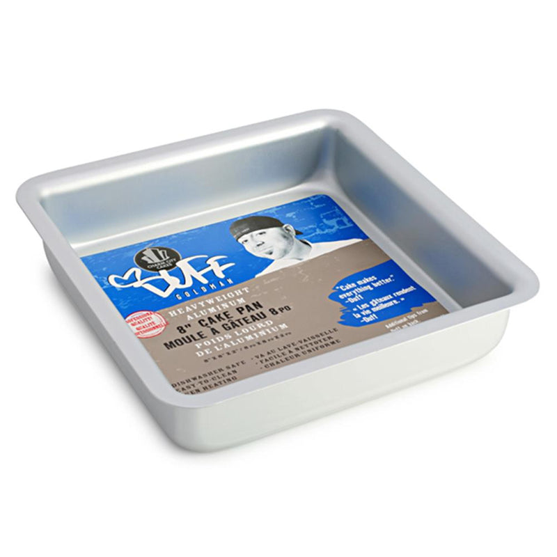 "Duff 8"" Square Anodized Aluminum Baking Pan"