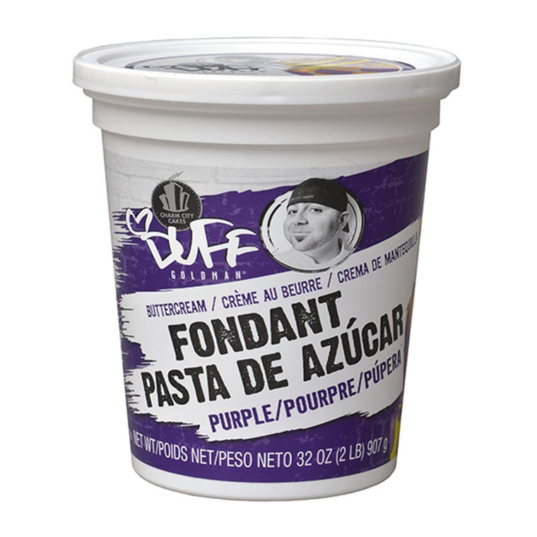 Duff Purple Fondant, 2Lb.