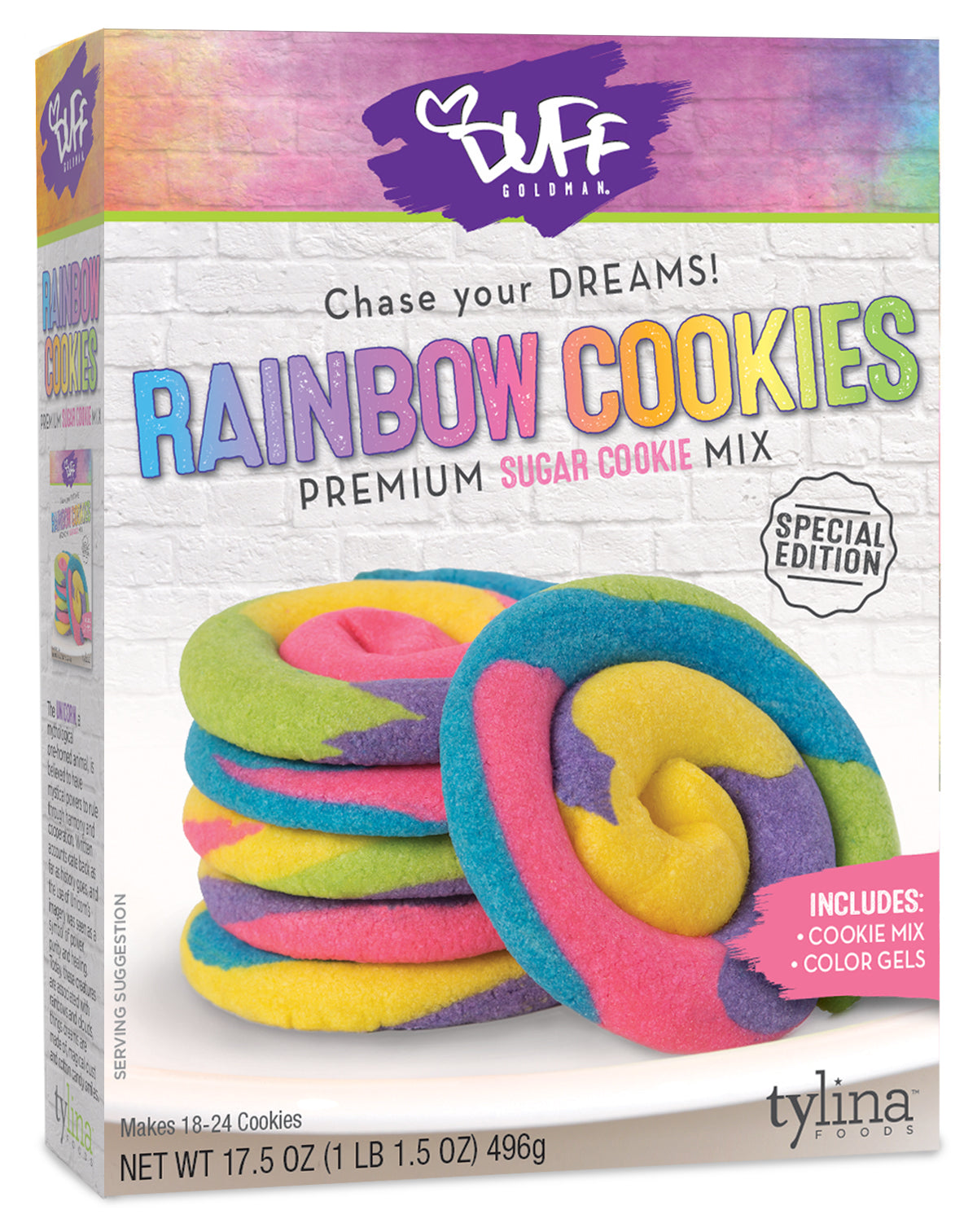 Duff Rainbow Sugar Cookie Mix