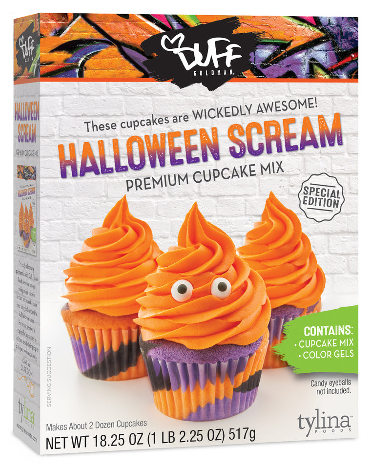 Duff Halloween Scream Cupcake Kit