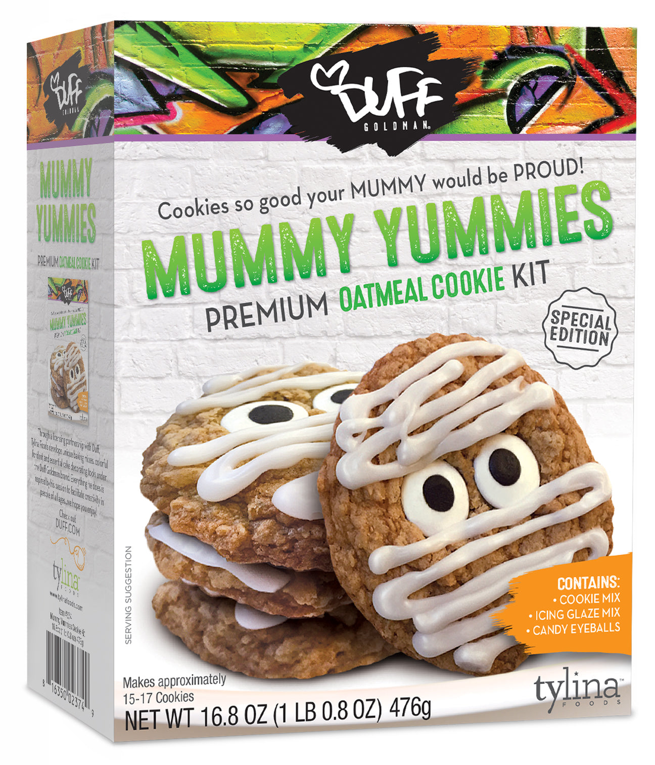Duff Halloween Mummy Yummies Cookie Kit