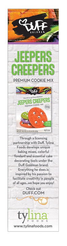 Duff Jeepers Creepers Cookie Mix