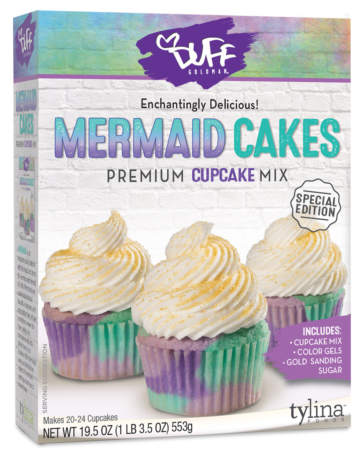 Duff Mermaid Cupcake Mix