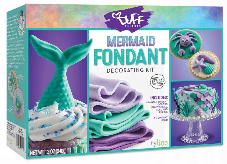 Duff Mermaid Fondant Kit