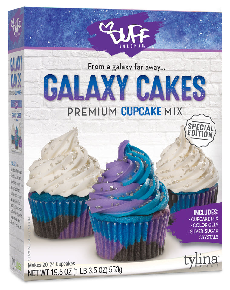 Duff Galaxy Cupcake Mix