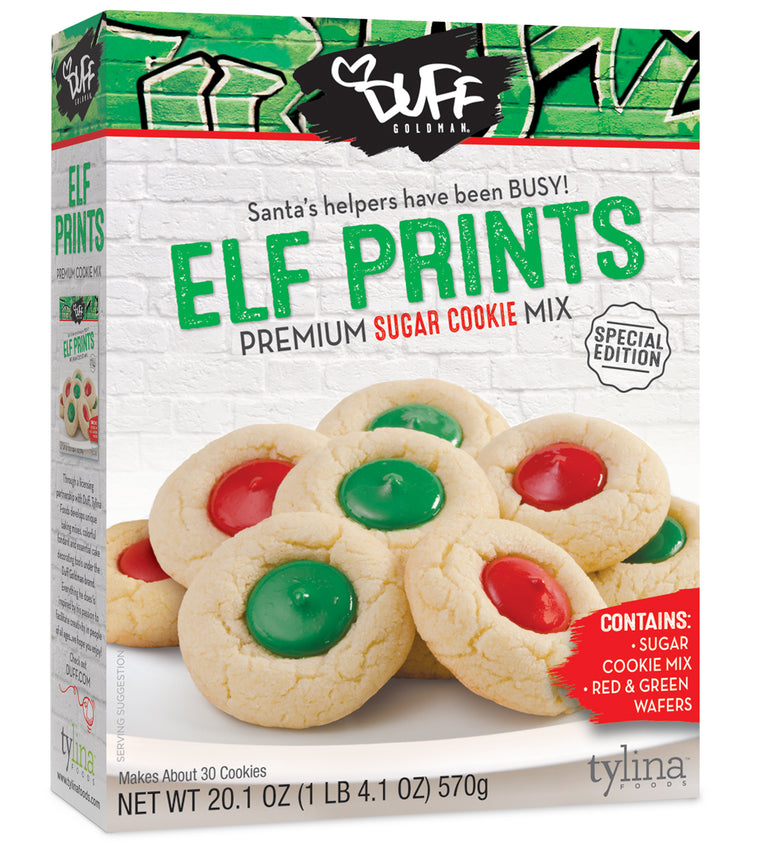 Duff Goldman Elf Prints Cookie Mix