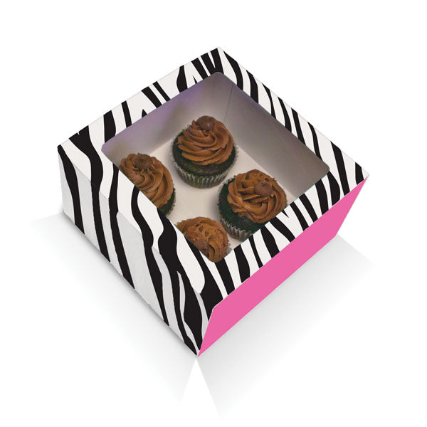 Duff Animal Prints Large Cupcake Box 2