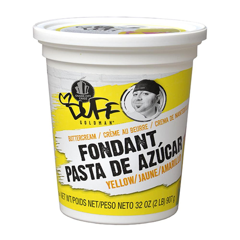 Duff Yellow Fondant, 2Lb.