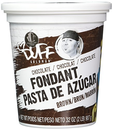 Duff Chocolate Fondant, 2Lb.