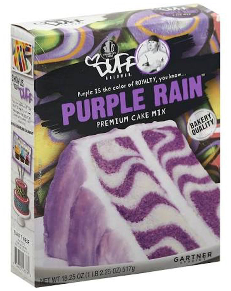 Duff Purple Rain Cake Mix