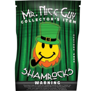 Mr. Nice Guy Shamrocks - Silver