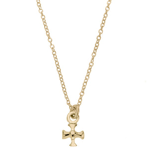 Maltese Cross Pendant<br>Ready To Ship