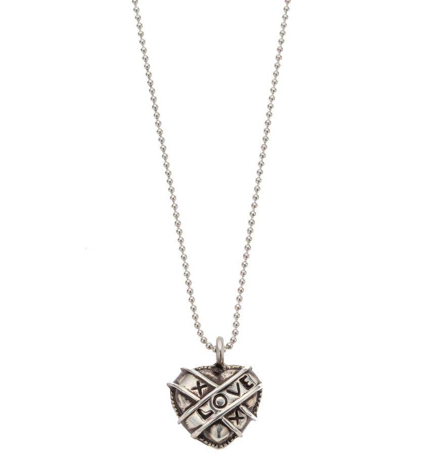 Heart XOX Love Pendant