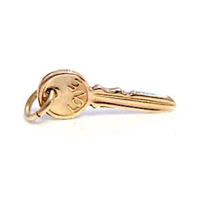 Love & Success Key Pendant