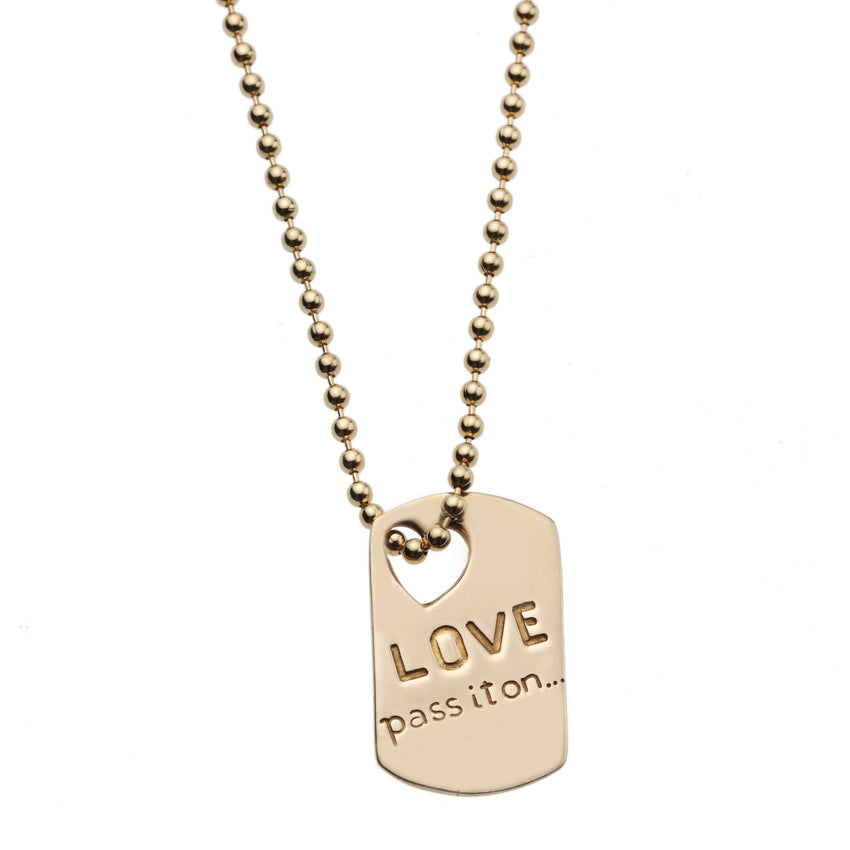 Love Pass it On... Pendant