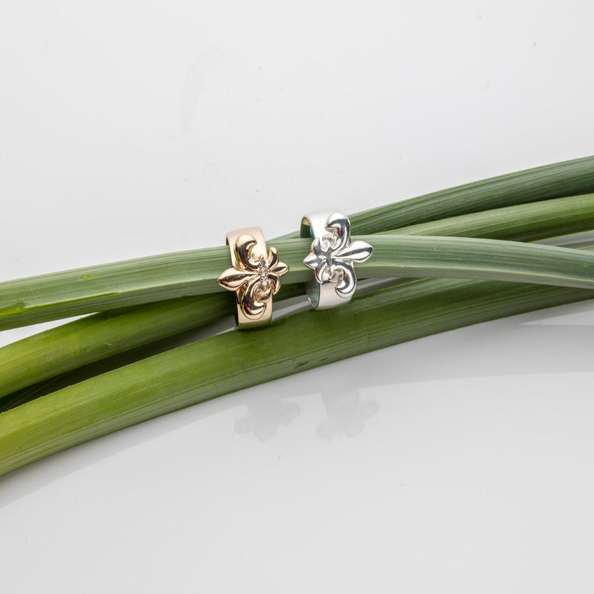 Fleur-De-lis Ring<br>Ready To Ship