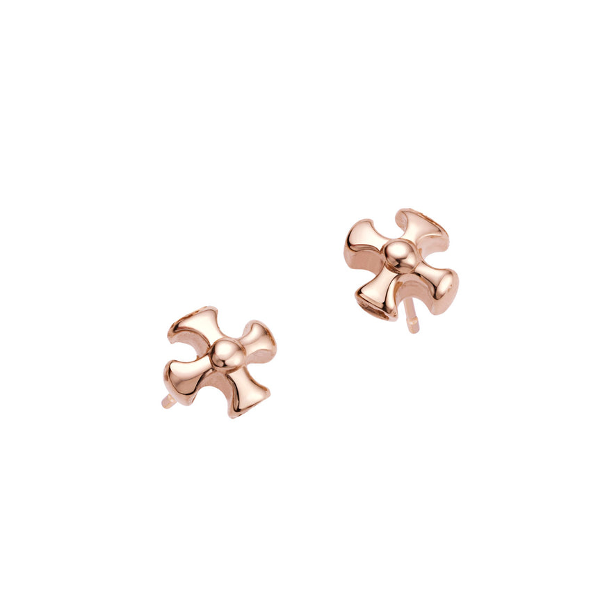 Maltese Cross Earrings