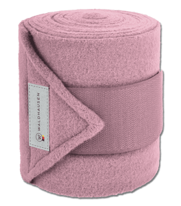 Blush FLEECE BANDAGES ESPERIA, SET OF 4