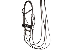 H&h Double bridle Grand Prix