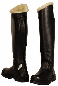TuffRider Ladies Tundra Fleece Lined Tall Boots in Synthetic Leather