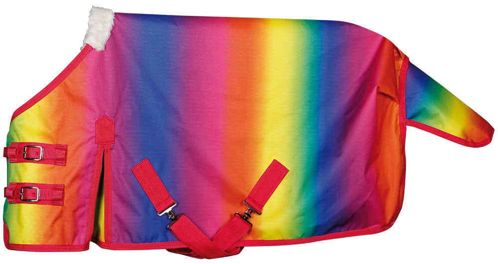 rainbow outdoor rug