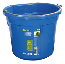 Safety bucket with wall fixings
