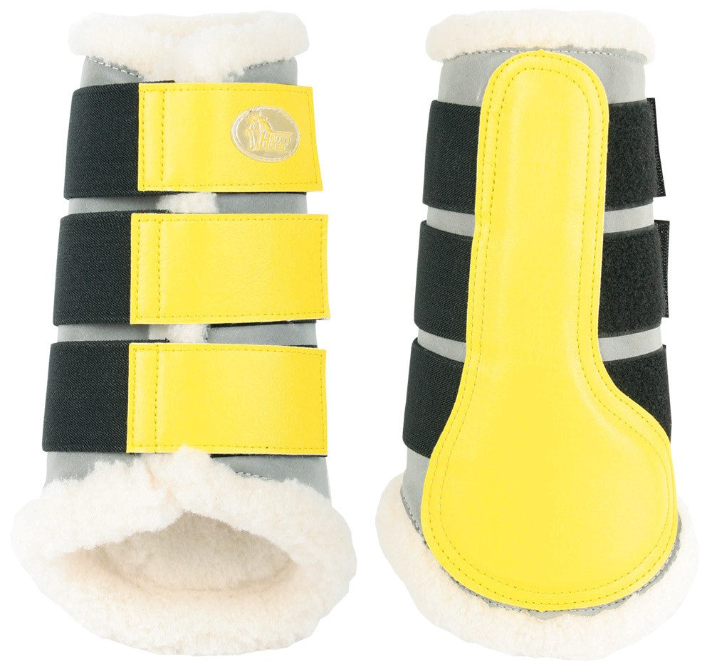 Protection leg boots reflective