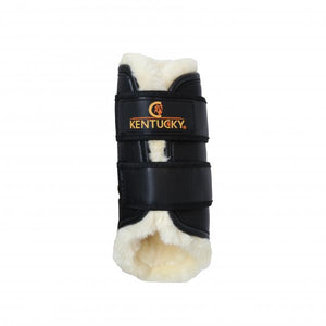 Kentucky Horsewear Leather Turnout Brushing Boots
