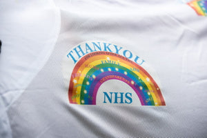 Limited Edition  2020 Thankyou NHS Combo Fly Rug Rainbow Collection