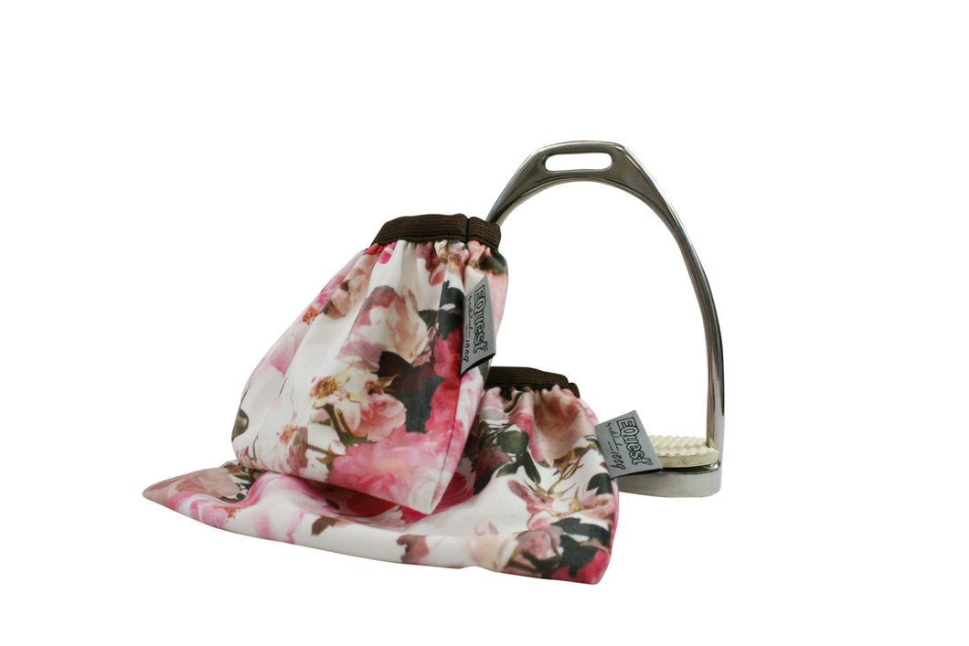 EQ Wild rose collection stirrup covers