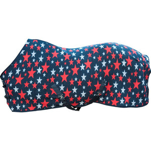 stars fleece cooler