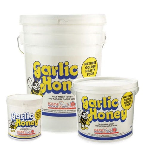 Equine products uk garlic and honey
