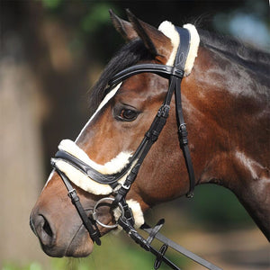 kavalkade ivy lambswool bridle