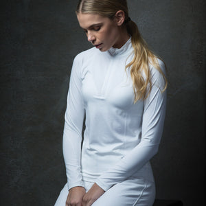 equetech lace long sleeve competition shirt
