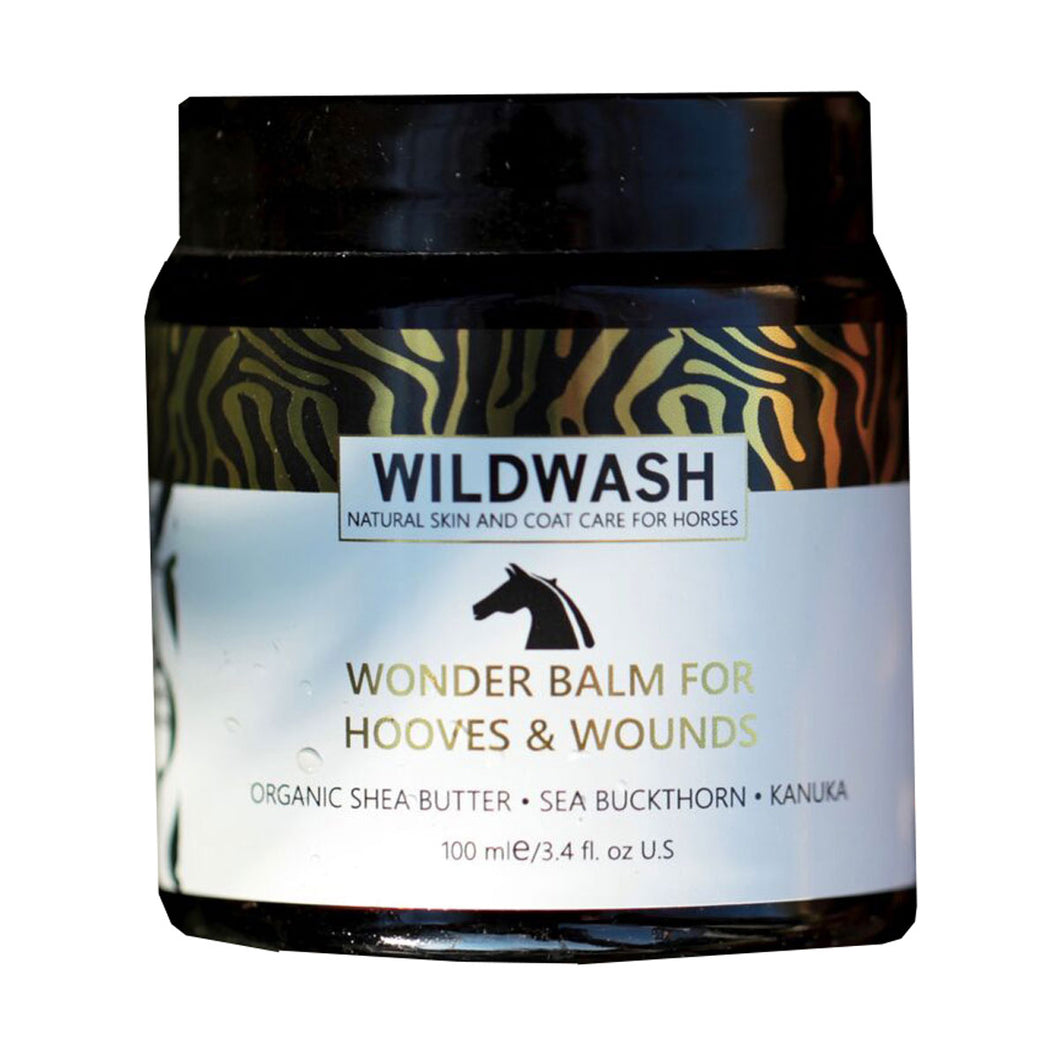 wildwash wonder balm for hooves and wounds