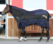 Horses thermo hot copricoll box blanket