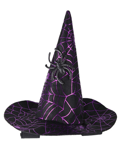 Halloween witches hat for crown of bridle