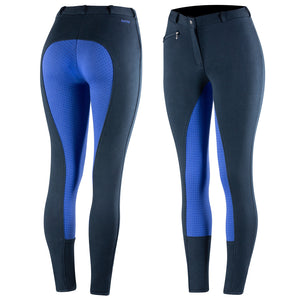 Horze Women's Active Silicone Grip Full Seat Breeches