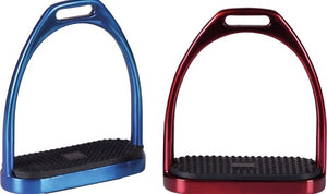 Horseguard fillis stirrups metallic