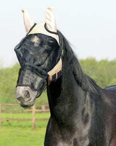 Qhp fly mask with nose