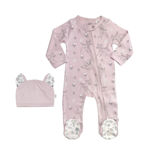 Finn +Emma Bambi body suit and hat