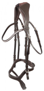 Kadira anatomical snaffle bridle