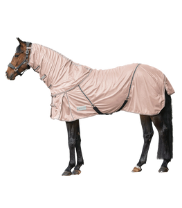 Pale rose pink fly rug combo
