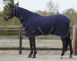 Fleece rug with neck offer