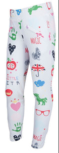 Hkm childrens santa fe riding leggings silicon knee patch