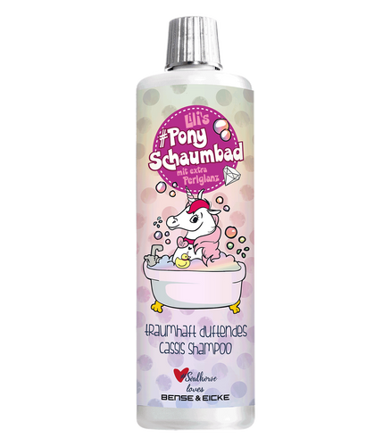 Lills pony foam bubble bath and shampoo