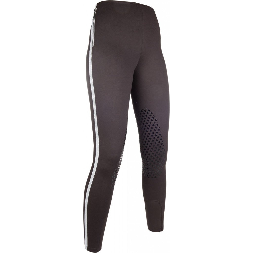 GL riding leggings with silicone knee patches